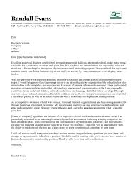Internship Cover Letter Example Professional Resumes Sample Online