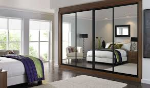 Sliding Door Bedroom Furniture Bedroom Modern Sliding Door Brown Wardrobe Design Bedroom