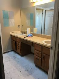 Custom Bathroom Countertops Fascinating How To Order A Lowe's Custom Vanity Top On A Budget Centsible Chateau