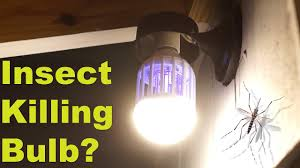Moth Light Traps Amazon Can This Normal Light Bulb Kill Mosquitoes Flying Insect Moth Wasp Zapper Test Review