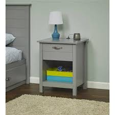 nightstand with usb. Delighful Usb Mainstays Kyle Night Stand With USB Port Multiple Colors Inside Nightstand With Usb