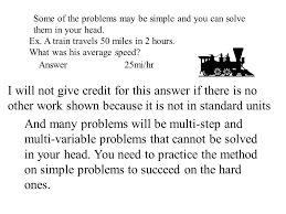 how to solve physics problems or translating from english to math  3 physics