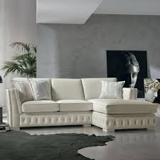 italian white furniture. corner sofa in white leather classic theseus made italy italian furniture