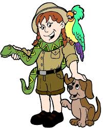zookeeper clipart. Unique Clipart Zoologist With Animals Images Pictures  Becuo For Zookeeper Clipart O
