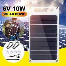 Pin nguồn điện dự phòng sạc điện thoại 6v dc tấm năng lượng mặt trời mini  hệ thống năng lượng mặt trời diy 0.6w 1w 1.1w 2w 3w 3.5w 4.5w năng lượng