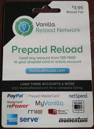 what a vanilla reload prepaid card looks like delta points travel