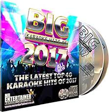 Uk Music Charts 2017 Mr Entertainer All New Big Karaoke Hits Of 2017 Double Cd G Cdg Pack 40 Top Chart Songs