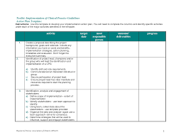 Project Action Plan Template Word Wonderful Action Plan Template Sample To Help You Developing A Plan 1