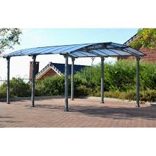 palram arcadia 5000 12 ft w x 165 ft d carport patio