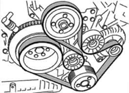 bmw x belt diagram vehiclepad repair guides engine mechanical components accessory drive