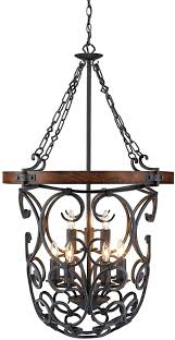golden lighting chandelier. Golden Lighting 1821-9P-BI Madera Rustic Black Iron Entryway Light Fixture. Loading Zoom Chandelier E