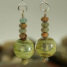 EarthWhorls hand made <b>natural stone jewelry</b>.