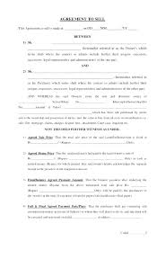 House Contract Form Free House Sale Contract Template