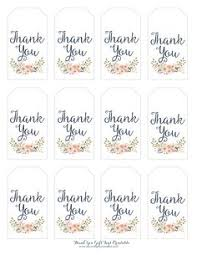 Free Printable Favor Tags 39 Best Thank You Tag Images Gift Tags Printable Gift