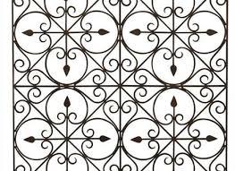 rectangle iron wall decor rod art home