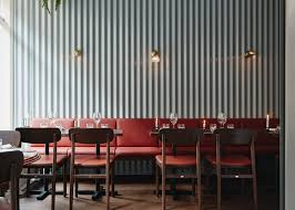 Corrugated Metal Interior Design Joanna Laajisto Lines Helsinki Restaurant With Corrugated Metal