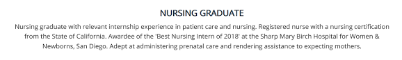 Nursing Student Resume The Complete 2019 Guide With 10