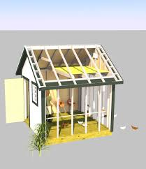 10x10 Chicken Coop Design Backyard Storage Shed 10x10 Gable Shed Plans Outdoors