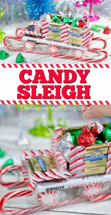 These delicious gifts all come with individually wrapped bags of our delicious popcorn in a variety of flavors. Candy Cane Sleigh With Video Tutorial The Soccer Mom Blog