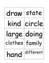 Second Grade Sight Words Flash Cards Second Grade Sight Word Flashcards Ii