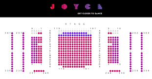 Seating The Joyce Theater