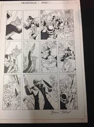 another grandville page up for auction