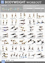 Strength Exercises Body Weight Strength Exercises
