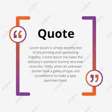 Abstract Quote Blank Bubble With Commas Template Abstract Quote