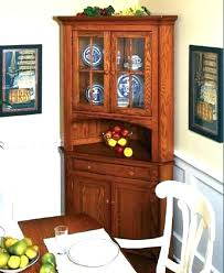Corner Cabinet Furniture Dining Room Impressive Design Ideas
