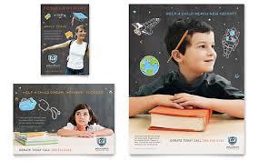 Education Marketing Brochures Flyers Newsletters