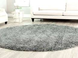 appealing 7 ft round rugs handmade silver polyester rug 7 round 7 ft for 4