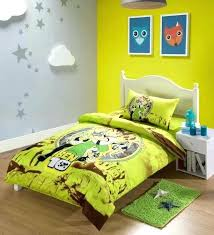 green cartoon ben 10 boys print bedding set single twin size comforter duvet cover sheets cotton white duvet covers twin xl duvet covers ikea review duvet
