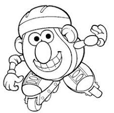 Small Picture Mr Potatohead Coloring Page Print Mr Potatohead pictures to