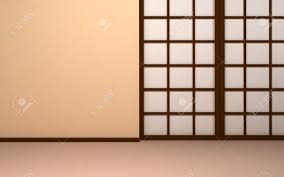 Japanese shoji doors Paper Japanese Background Empty Beige Wall With Japanese Panel Doors Shoji Doors Stock Photo 24058259 Auction Zip Japanese Background Empty Beige Wall With Japanese Panel Doors