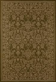 fleur de lis living beaminster green beige area rug