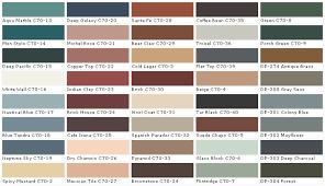 Behr Beige Color Chart Behr Paints Chip Color Swatch Sample And Palette Wall Paints