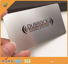 Steel Business Cards Metal Business Cards Stainless Steel Card Brass Etched Business