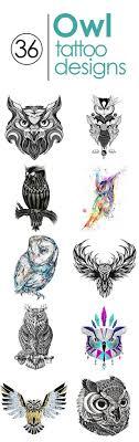 47 inspirierende Ideen und Bilder zum Thema Owl Tattoo!A Decoraue ...