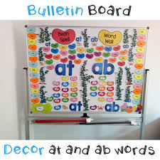 Image Classroom Teachers Pay Teachers At And Ab Word Family Bulletin Board Decor By Foraging The Forest