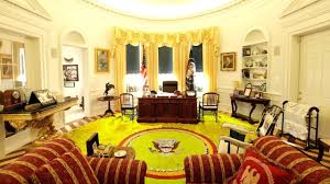 Oval Office Carpet Eagle This Seal Appears On The Presidential Flag