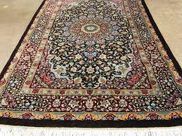 persian silk ghom oriental rugs brown scottsdale az pv