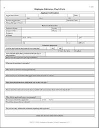 Employee Reference Check Form House Restaurant Restaurant