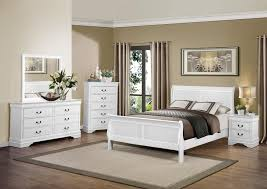 White Sleigh Bed Bedroom Collection