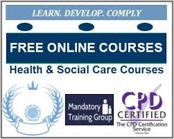 Online Certificates Free Free Online Health Care Social Care Mandatory Training Courses