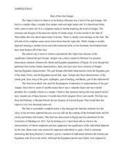 sparta vs athens sample essay sample essay compare and contrast  2 pages bust of the god serapis sample essay
