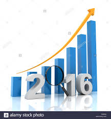 New Who Growth Chart New Year Growth Chart With Magnifying Glass 3d Render Stock