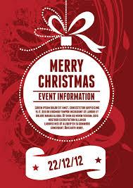 christmas dinner poster christmas festive free poster templates backgrounds
