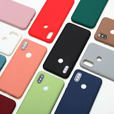 Online Shop <b>Candy Color Silicone TPU</b> Matte Cases For Xiaomi ...