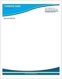 Business Letterhead Templates For Ms Word Word Excel