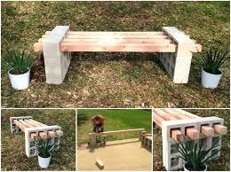cinderblock furniture. Cinder Block Outdoor Furniture View In Gallery Bench Tutorial Wonderful Coffee Table Cinderblock